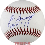 Lee Smith Autographed Major League Baseball Inscribed HOF 19