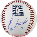 Lee Smith Autographed Hall of Fame Logo Baseball Inscribed HOF 19