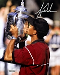 Tiger Woods Autographed 1999 PGA Championship 8x10 Photo Limited Edition of 100