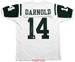 Sam Darnold Autographed New York Jets Custom Jersey