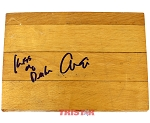 Mario Elie Autographed Authentic Summit Floor Piece Inscribed Kiss of Death