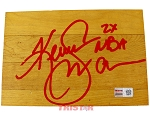 Kenny Smith Autographed Authentic Summit Floor Piece Inscribed 2x NBA Champ