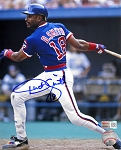 Dwight Smith Autographed Chicago Cubs 8x10 Photo