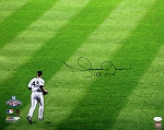 Mariano Rivera Autographed Yankees 2009 World Series 16x20 Photo Inscribed HOF 2019