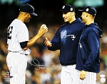 Mariano Rivera Autographed Yankees Last Game 16x20 Photo Inscribed HOF 2019