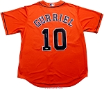 Yuli Gurriel Autographed Houston Astros Orange Replica Jersey