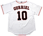 Yuli Gurriel Autographed Houston Astros White Replica Jersey