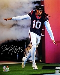 DeAndre Hopkins Autographed Houston Texans Tunnel Intro 16x20 Photo