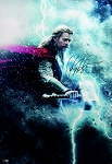 Chris Hemsworth Autographed Marvel Avengers Thor 20x30 Photo