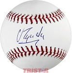 Jose Urquidy Autographed Official ML Baseball