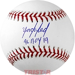 Yordan Alvarez Autographed Major League Baseball Inscribed 19 AL ROY