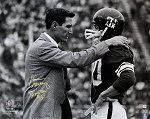 Gene Stallings Autographed Texas A&M Aggies 16x20 Photo Inscribed Junction Boy