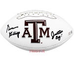 Gene Stallings Autographed Texas A&M Aggies Football Inscribed Junction Boy