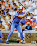 Larry Walker Autographed Montreal Expos 8x10 Photo Inscribed HOF 2020