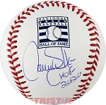 Larry Walker Autographed Hall of Fame Baseball Inscribed HOF 2020