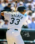 Larry Walker Autographed Colorado Rockies 16x20 Photo Inscribed HOF 2020
