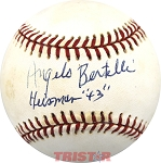 Angelo Bertelli Autographed National League Baseball Inscribed Heisman 43