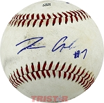 Tim Anderson Autographed Southern League Baseball Inscribed 7