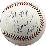Chuck Daly Autographed Major League Baseball Inscribed HOF 94