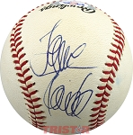 Jane Fonda Autographed National League Baseball
