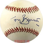 Tony Bennett Grammy Winning Singer Autographed Official NL Baseball