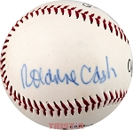 Rosanne Cash Autographed Official League Baseball