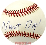 Newt Gingrich Autographed Official American League Baseball
