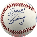 Dave Bing Autographed Rawlings Official League Baseball