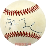 George W. Bush Autographed Official National League Baseball