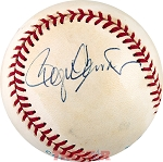 Roger Clemens Autographed Official American League Baseball
