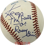 Rosey Grier Autographed Official American League Baseball