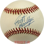 Scott Hamilton Autographed Official National League Baseball