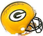 Bart Starr Autographed Green Bay Packers Full Size Helmet Full Name Bryan Bartlett
