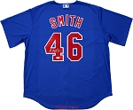 Lee Smith Autographed Chicago Cubs Replica Jersey Inscribed 478 Saves