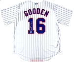 Dwight 'Doc' Gooden Autographed New York Mets Replica Jersey Inscribed 84 ROY