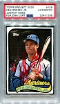 Ken Griffey Jr. Autographed Topps Project 2020 Card #148 Inscribed 24 - Red 1/1
