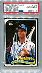 Ken Griffey Jr. Autographed Topps Project 2020 Card #148 Inscribed 24 - White 1/1
