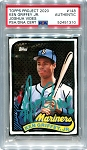 Ken Griffey Jr. Autographed Topps Project 2020 Card #148 Inscribed HOF 16 - Green 1/1