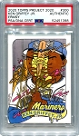 Ken Griffey Jr. Autographed Topps Project 2020 Card #300 Inscribed 24 - Gold 1/1
