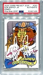 Ken Griffey Jr. Autographed Topps Project 2020 Card #300 Inscribed 1989 - White 1/1