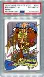 Ken Griffey Jr. Autographed Topps Project 2020 Card #300 Inscribed 1989 - Gold 1/1