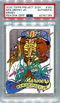 Ken Griffey Jr. Autographed Topps Project 2020 Card #300 Inscribed 1989 - Green 1/1