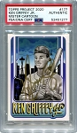 Ken Griffey Jr. Autographed Topps Project 2020 Card #177 Inscribed 24 - Gold 1/1