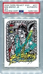 Ken Griffey Jr. Autographed Topps Project 2020 Card #277 Inscribed 10x GG - Green 1/1