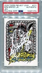 Ken Griffey Jr. Autographed Topps Project 2020 Card #277 Inscribed 24 - White 1/1