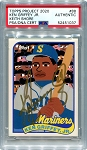 Ken Griffey Jr. Autographed Topps Project 2020 Card #88 Inscribed 24 - Gold 1/1