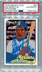 Ken Griffey Jr. Autographed Topps Project 2020 Card #88 Inscribed HOF 16 - Blue 1/1