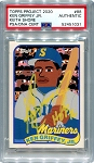 Ken Griffey Jr. Autographed Topps Project 2020 Card #88 Inscribed HOF 16 - Yellow 1/1