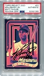 Ken Griffey Jr. Autographed Topps Project 2020 Card #53 Inscribed 10x GG - Black 1/1