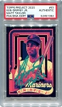 Ken Griffey Jr. Autographed Topps Project 2020 Card #53 Inscribed 13x AS - Green 1/1
